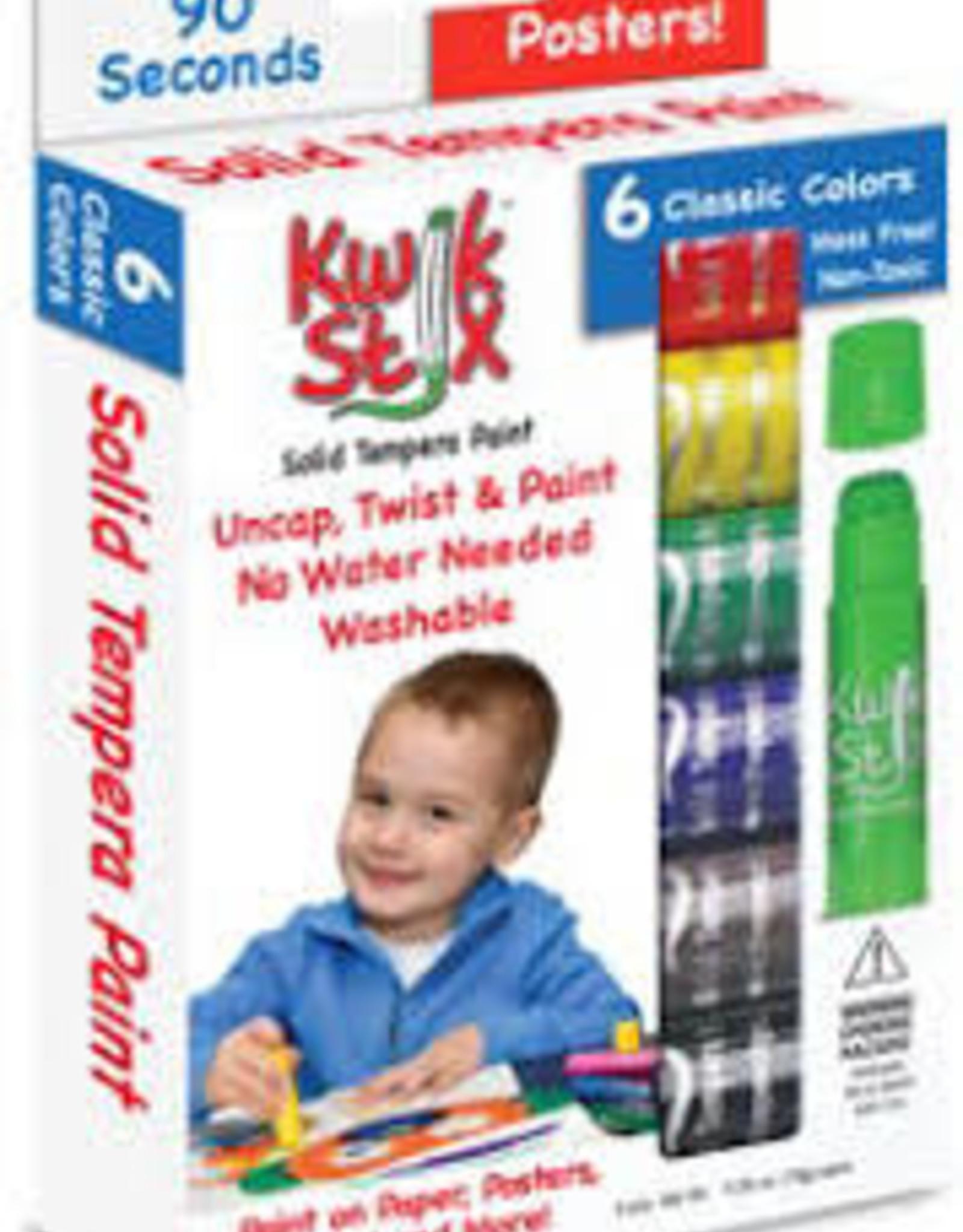 Kwik Stix Paint Stick Classic 6pk