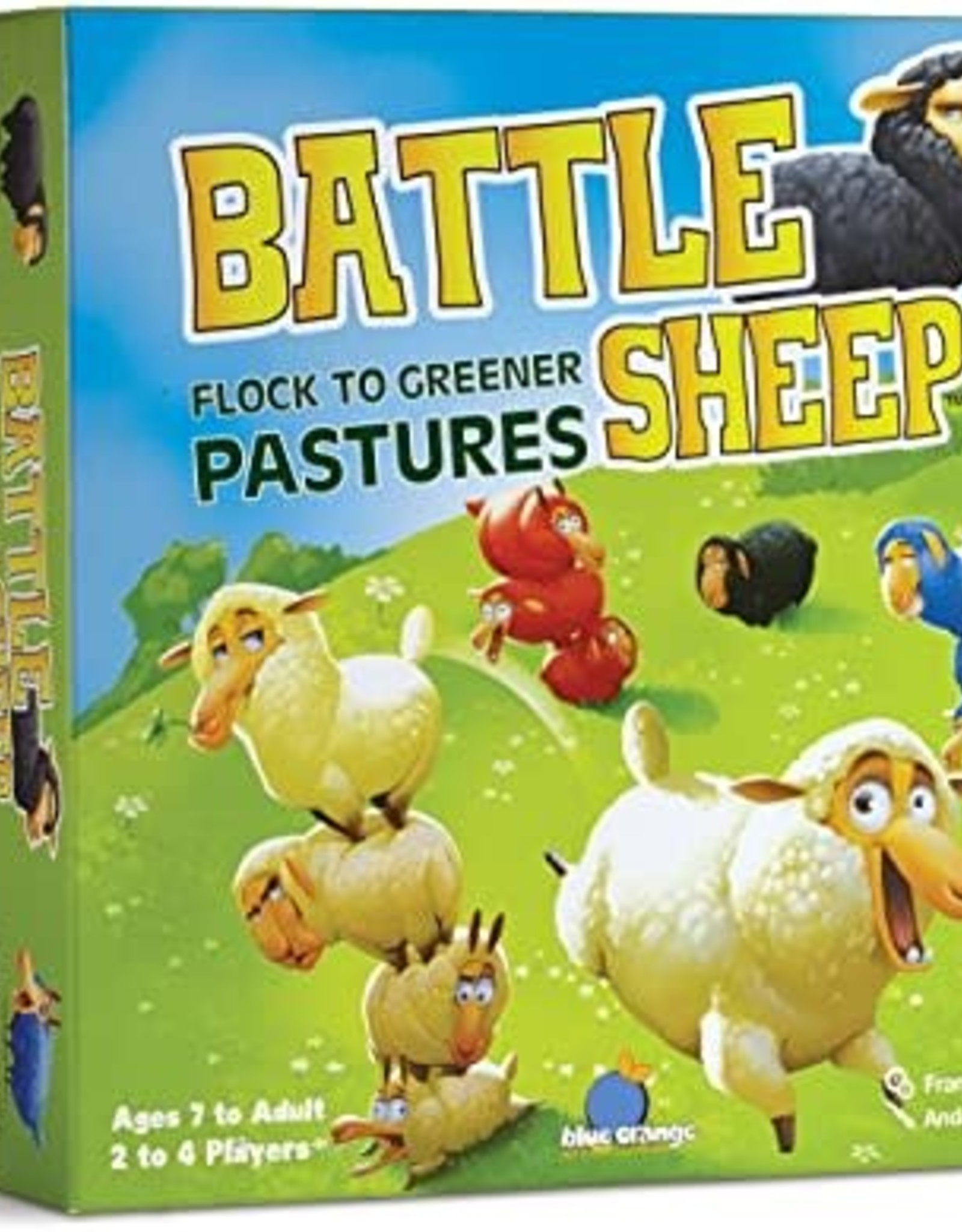 Blue Orange Battle Sheep