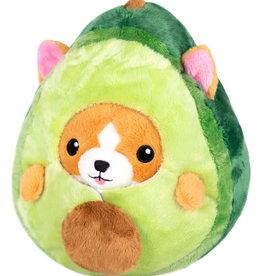 Squishable Undercover Corgi in Avocado