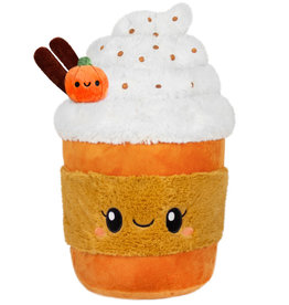 Squishable Mini Comfort Food Pumpkin Spice Latte