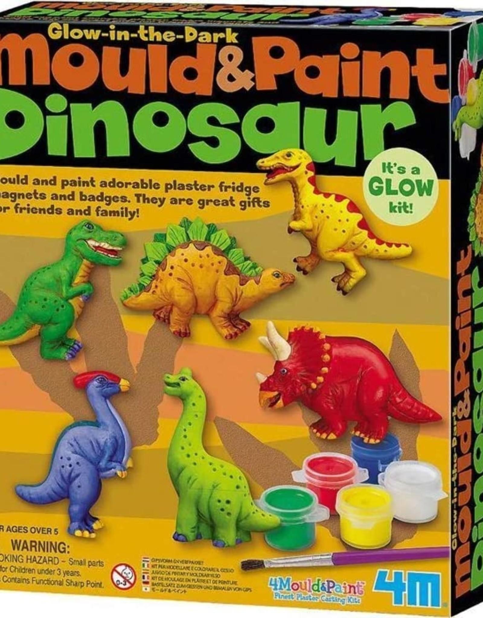 4M Mould & Paint - Glow Dinosaur