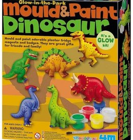 4M Mould & Paint - Glow Dinosaur