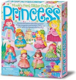 4M Mould & Paint - Glitter Princess