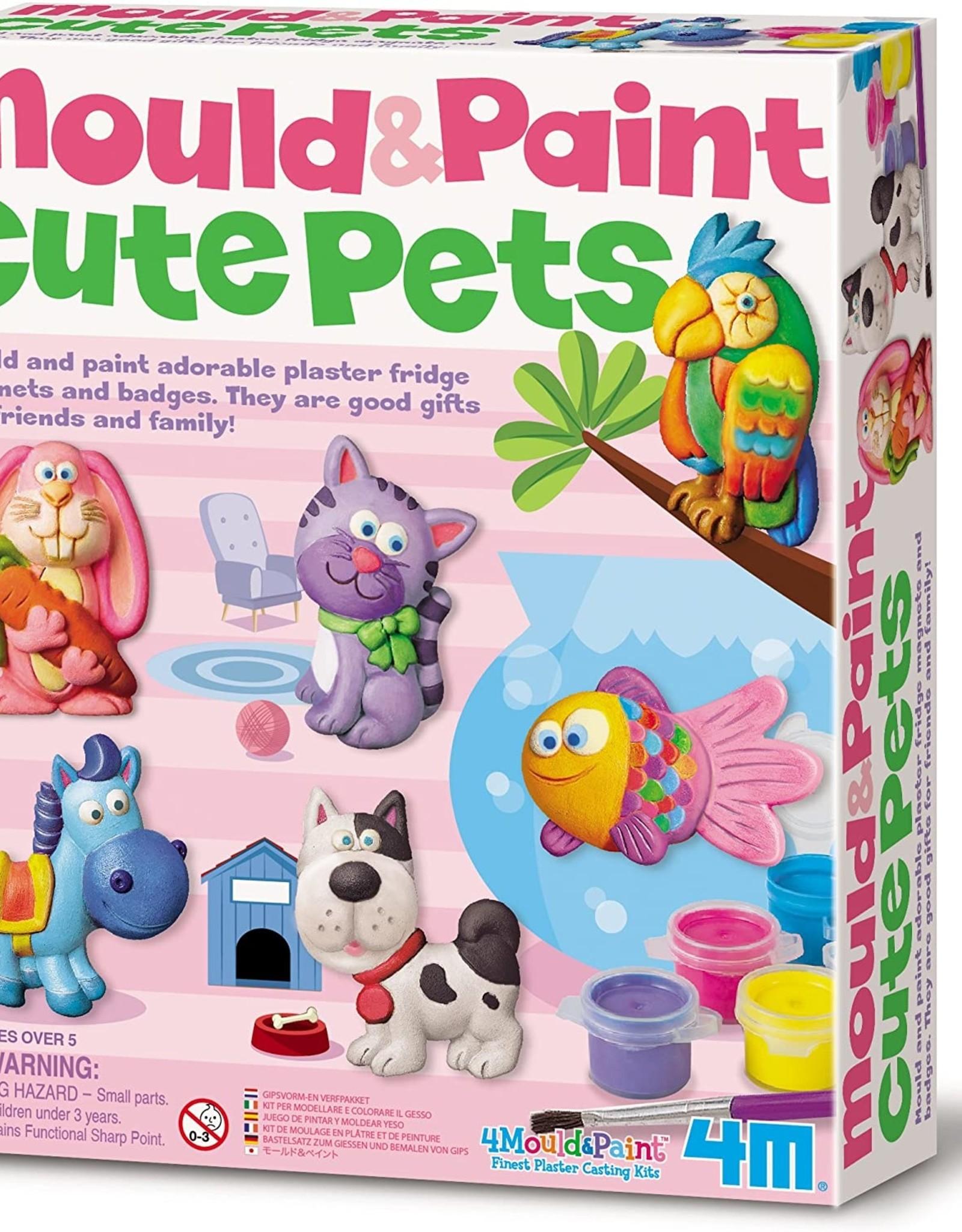 4M Mould & Paint - Cute Pets