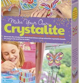 4M Crystallite Wind Chime / Trinket Box