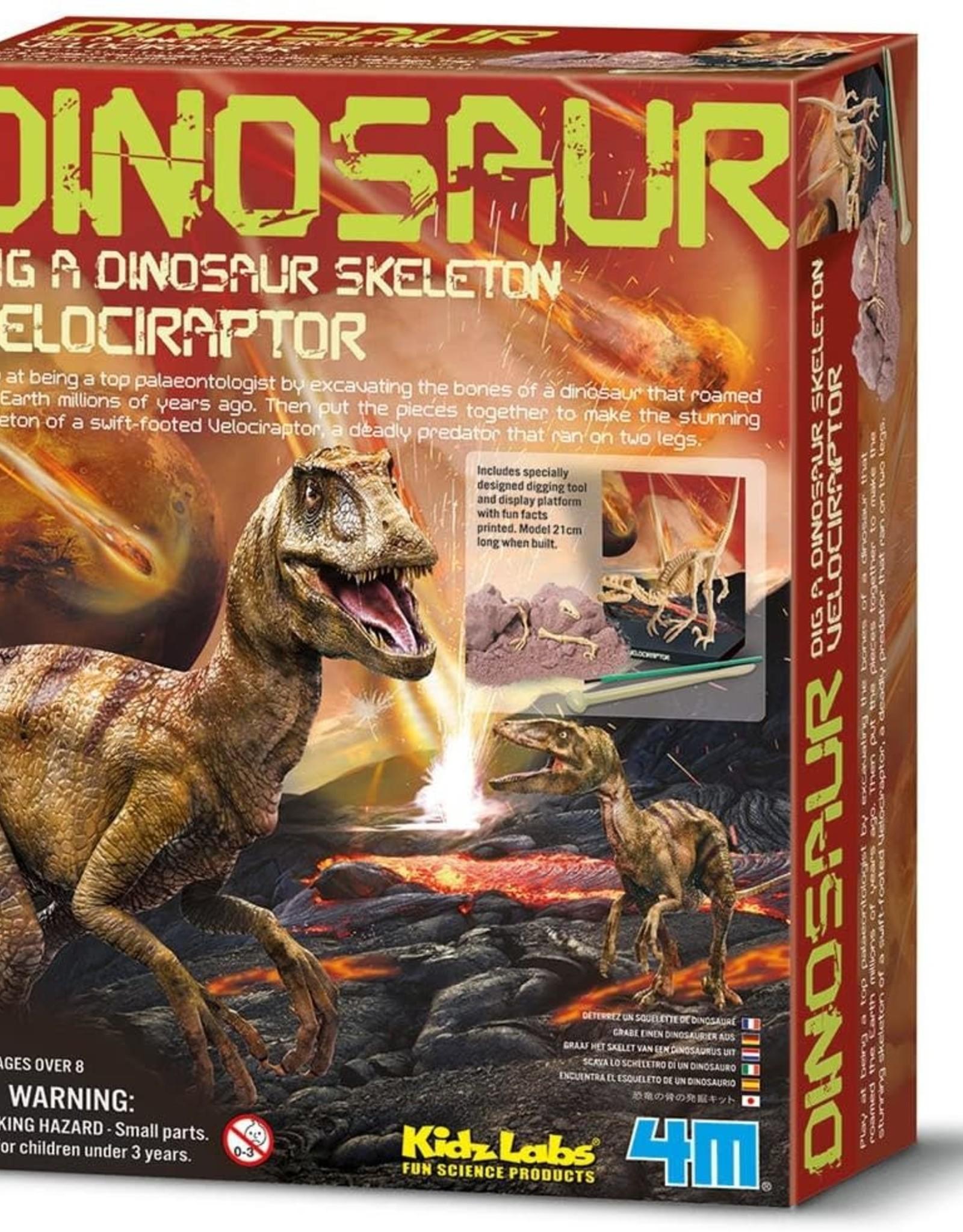 4M Dig a Velociraptor