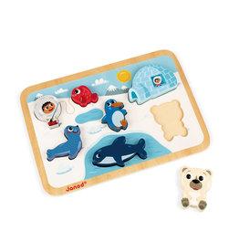 Janod Arctic Chunky Puzzle