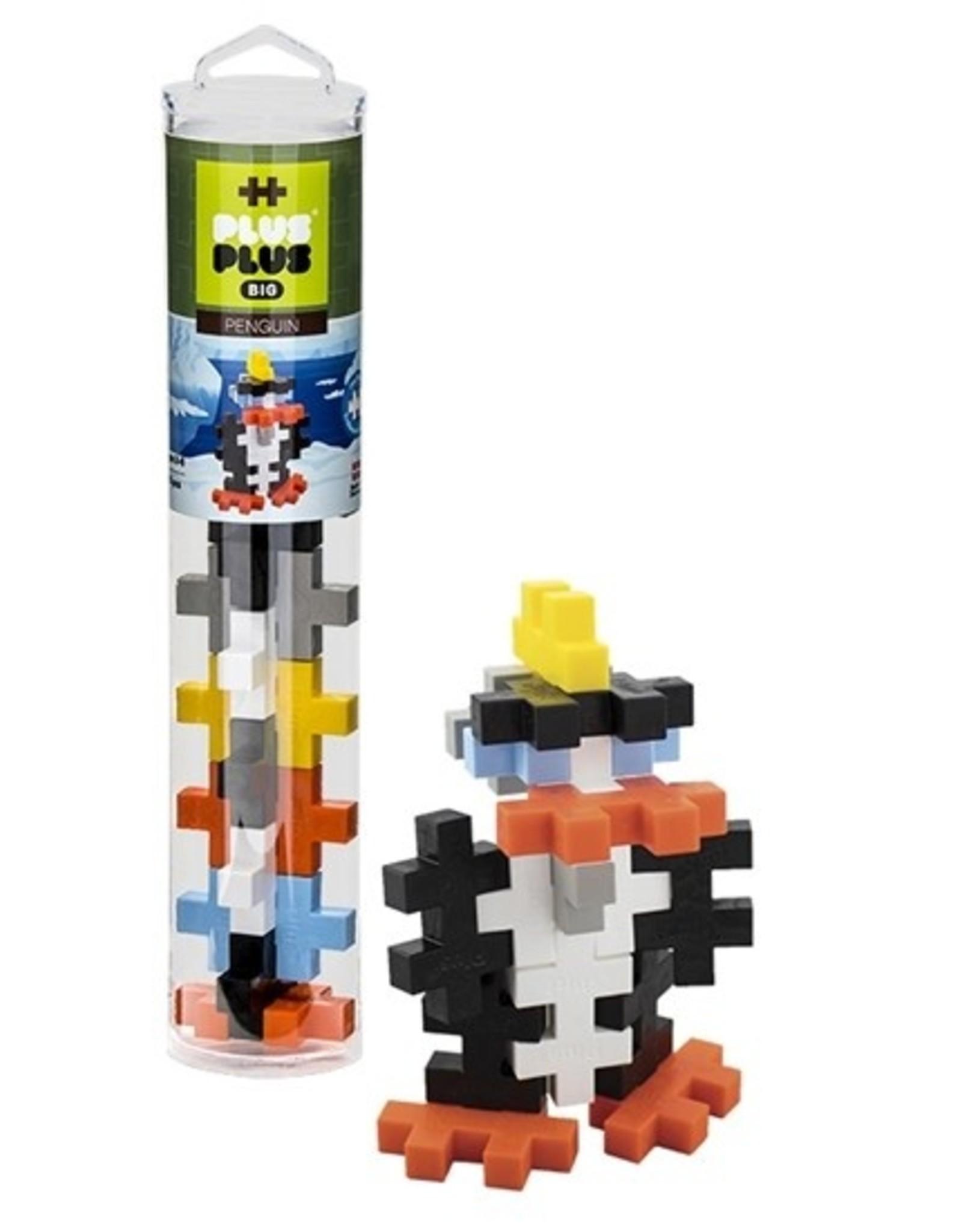 Plus Plus Plus Plus Tube BIG 15pc - Penguin