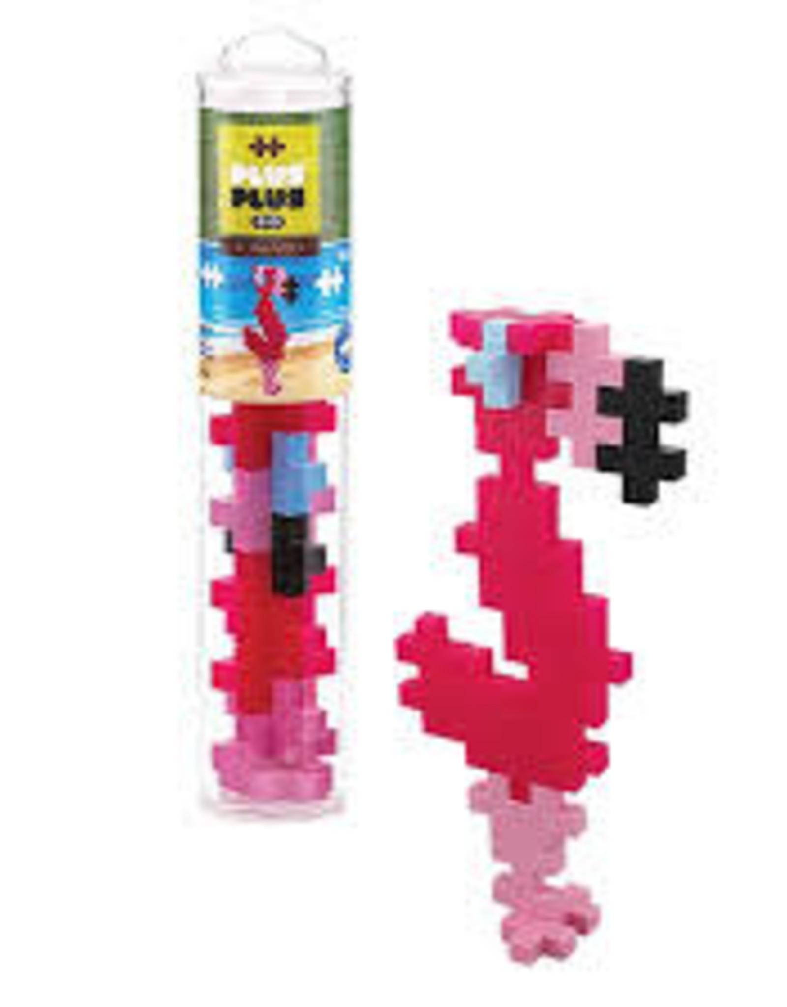 Plus Plus Plus Plus Tube BIG 15pc - Flamingo
