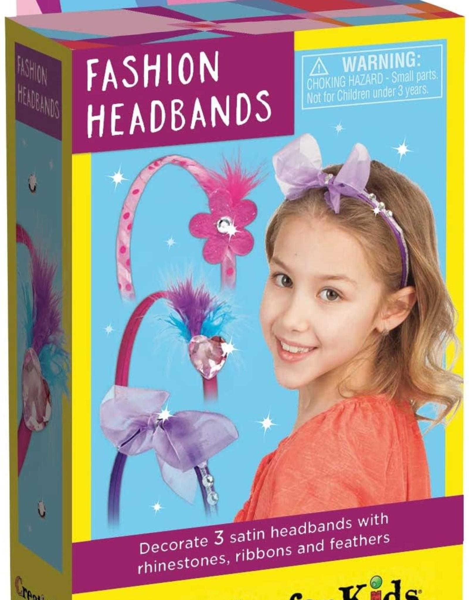 Creativity For Kids Fashion Headbands mini Kit