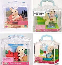 Calico Critters Mini Carry Cases
