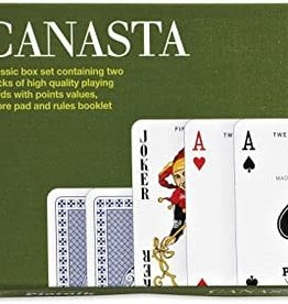 Piatnik Canasta Double deck cards & scorecards