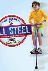 GeoSpace Boing Jr. Pogo Stick - Purple (50 to 90 lbs.)