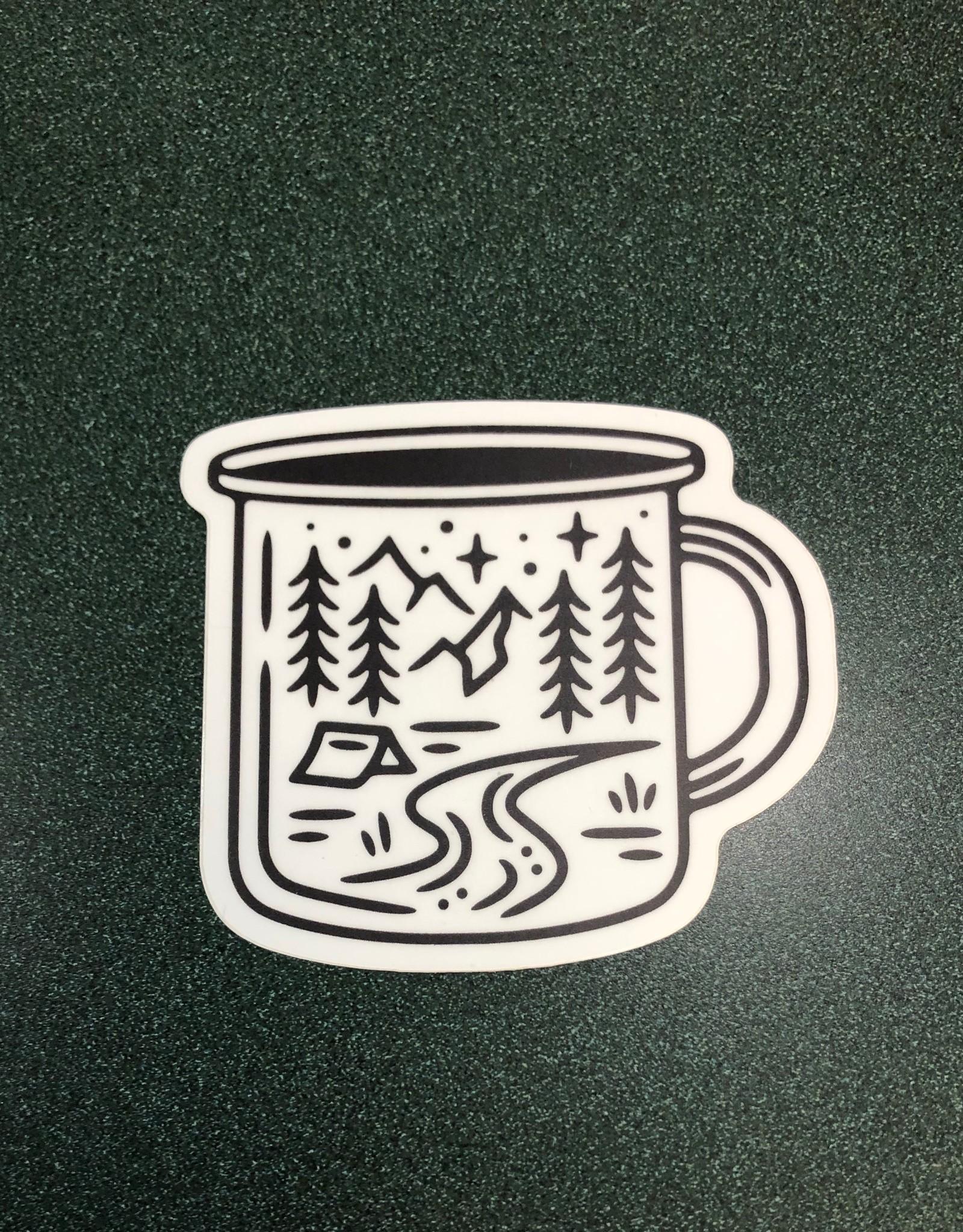 Stickers NW CAMPING MUG SCENE