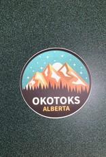 Stickers NW Round Okotoks, Ab Sticker