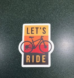 Stickers NW LET'S RIDE