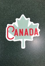 Stickers NW MAPLE LEAF CANADA