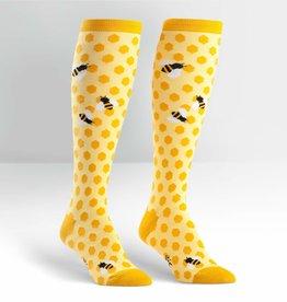 Sock It To Me Knee High: Bee's Knees