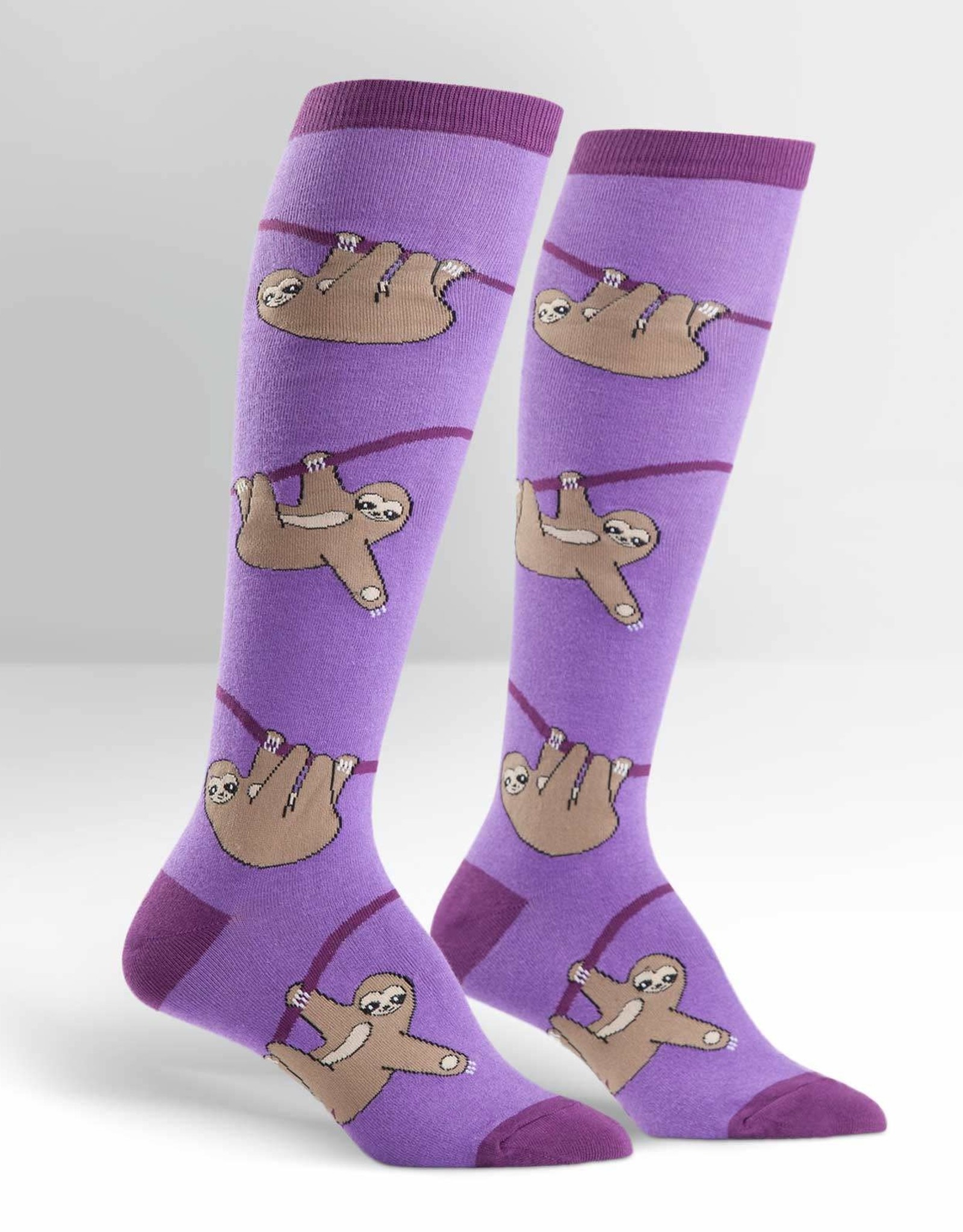 Sock It To Me Knee High: Sloth