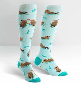 Sock It To Me Knee High: My Otter Half