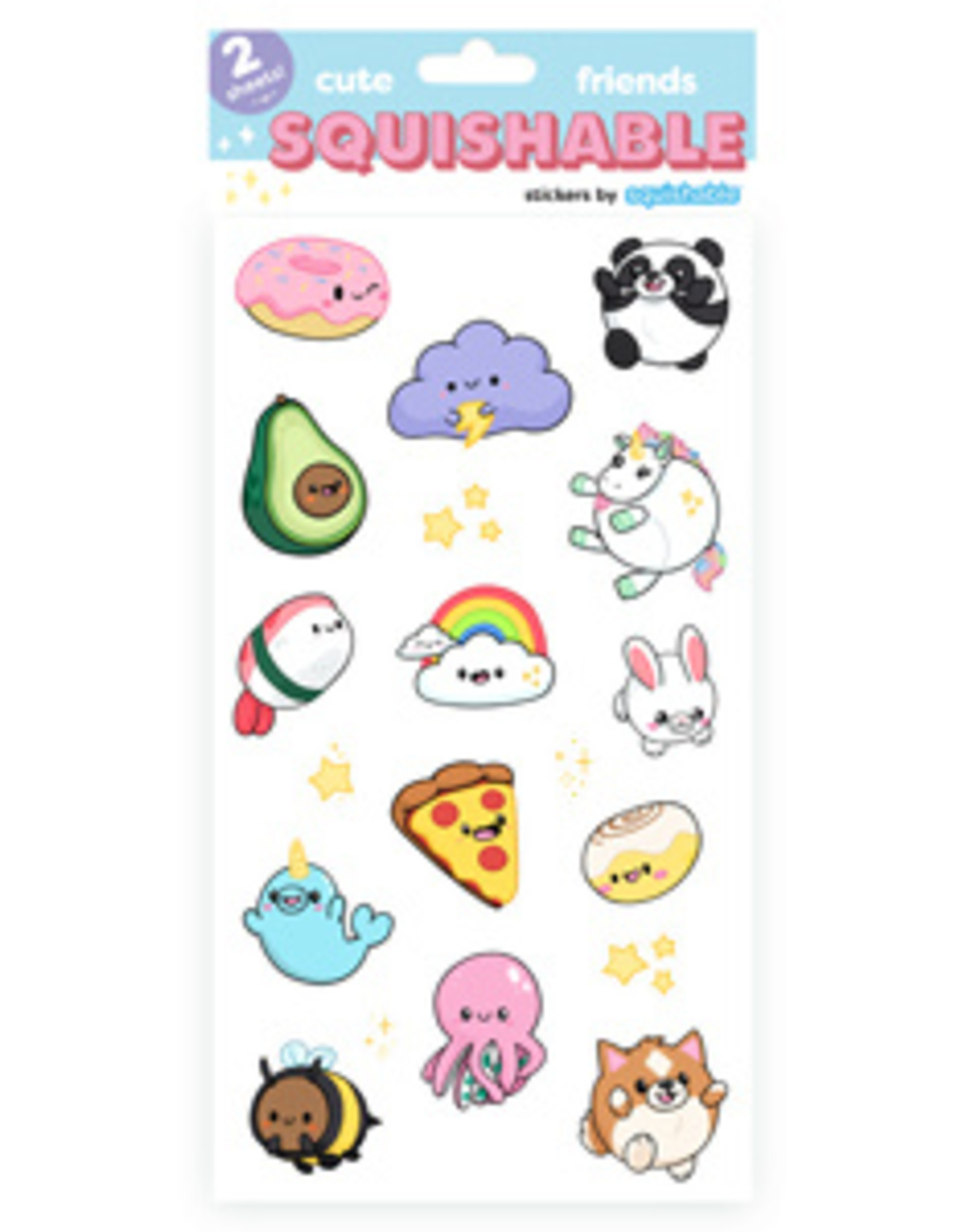 Squishable Assorted Squishable Stickers