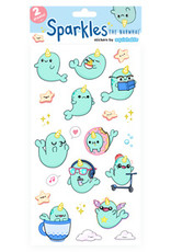 Squishable Narwhal Sparkles Stickers
