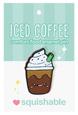 Squishable Enamel Pin - Iced Coffee