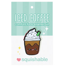 Squishable Enamel Pin - Iced Coffee