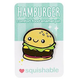 Squishable Enamel Pin - Hamburger
