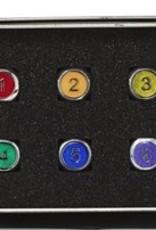 Die Hard Metal Gemstone 6D6 Rainbow w/Orange