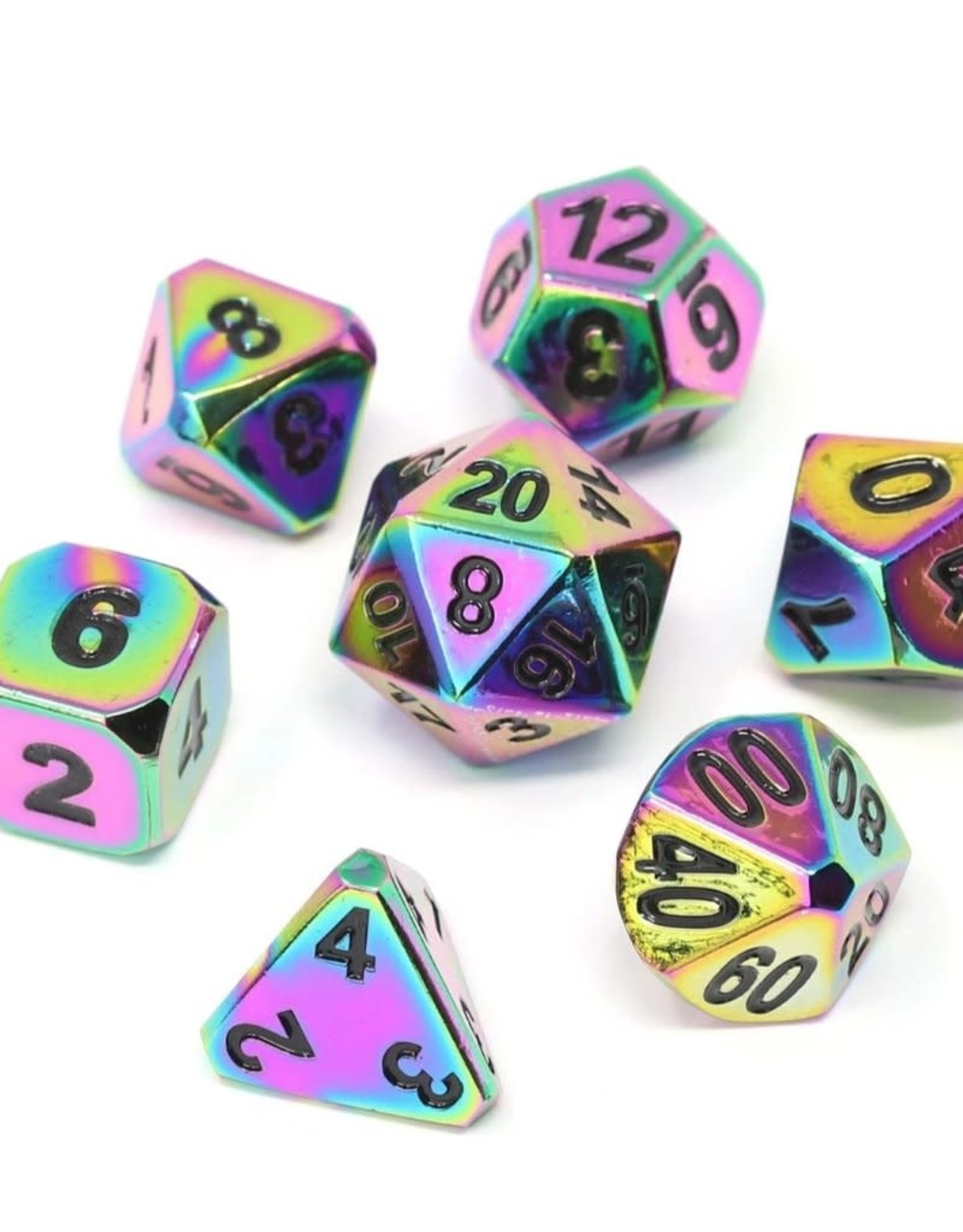 Die Hard Metal Forge Dice Set-Scorched Rainbow w/Black
