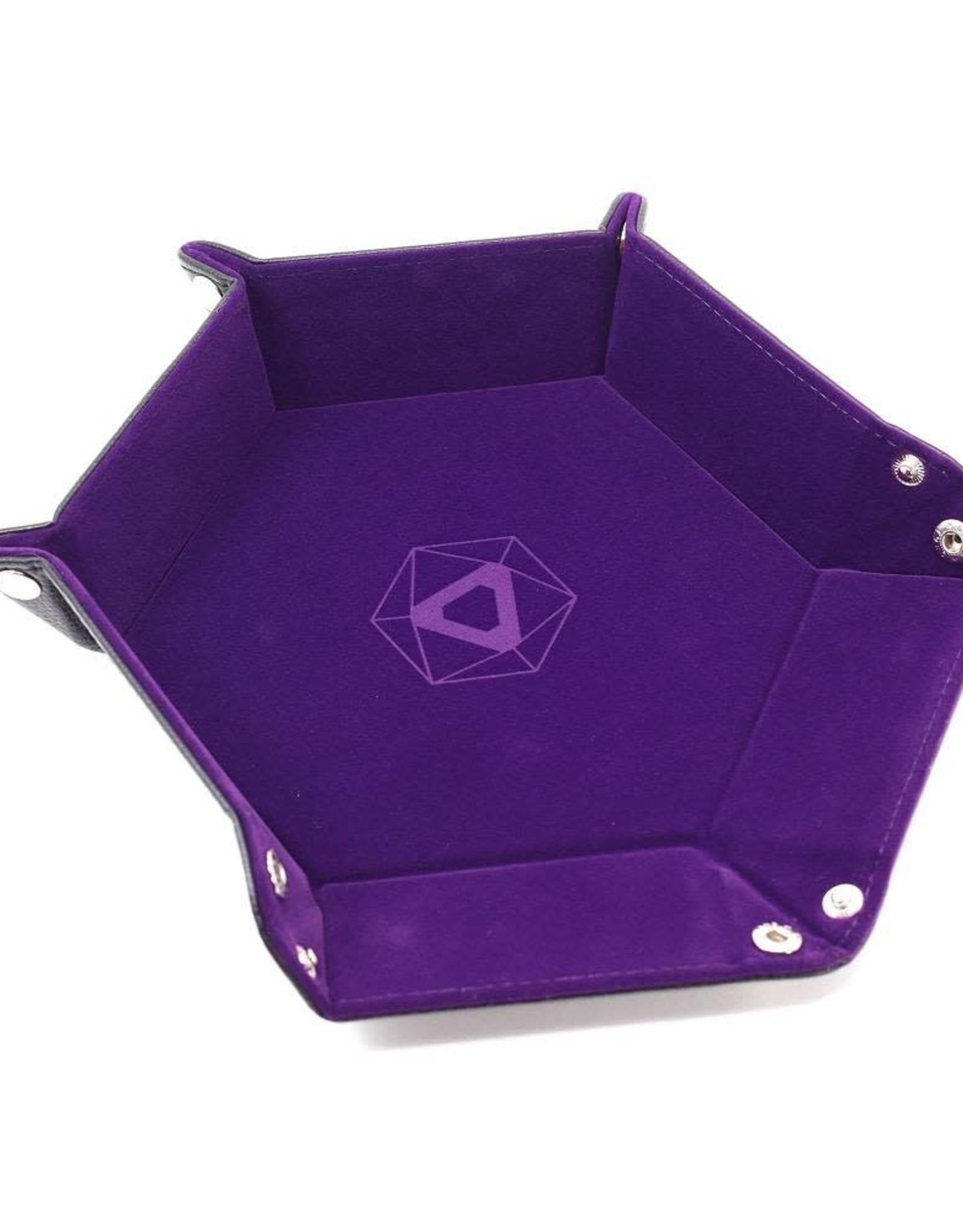 Die Hard Folding Hex Tray Purple Velvet