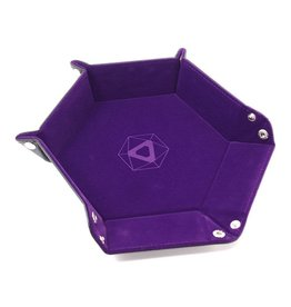 Die Hard Folding Hex Tray Purple Velvet