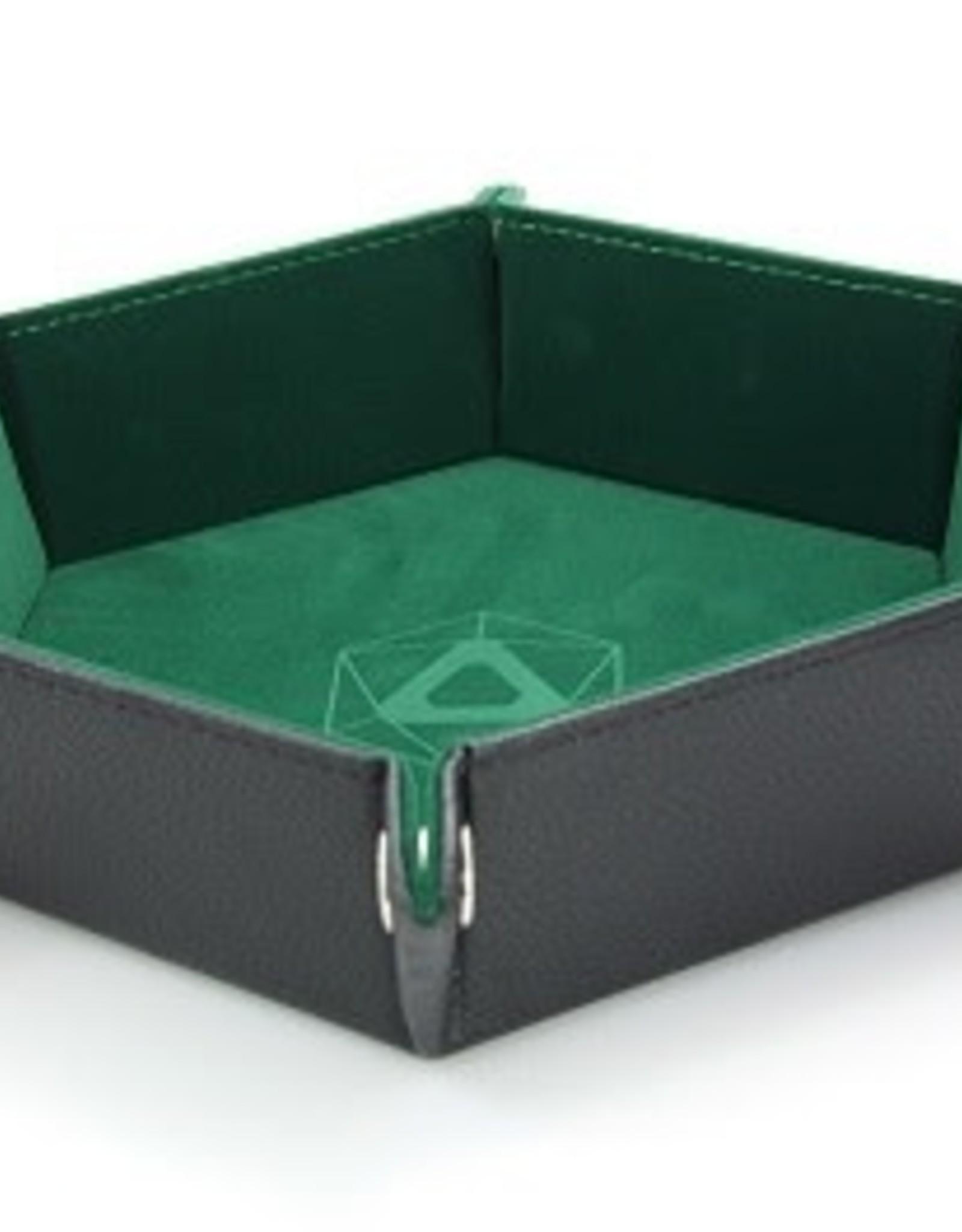 Die Hard Folding Hex Tray Green Velvet