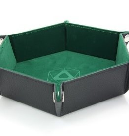 Die Hard Folding Hex Tray Green Velvet