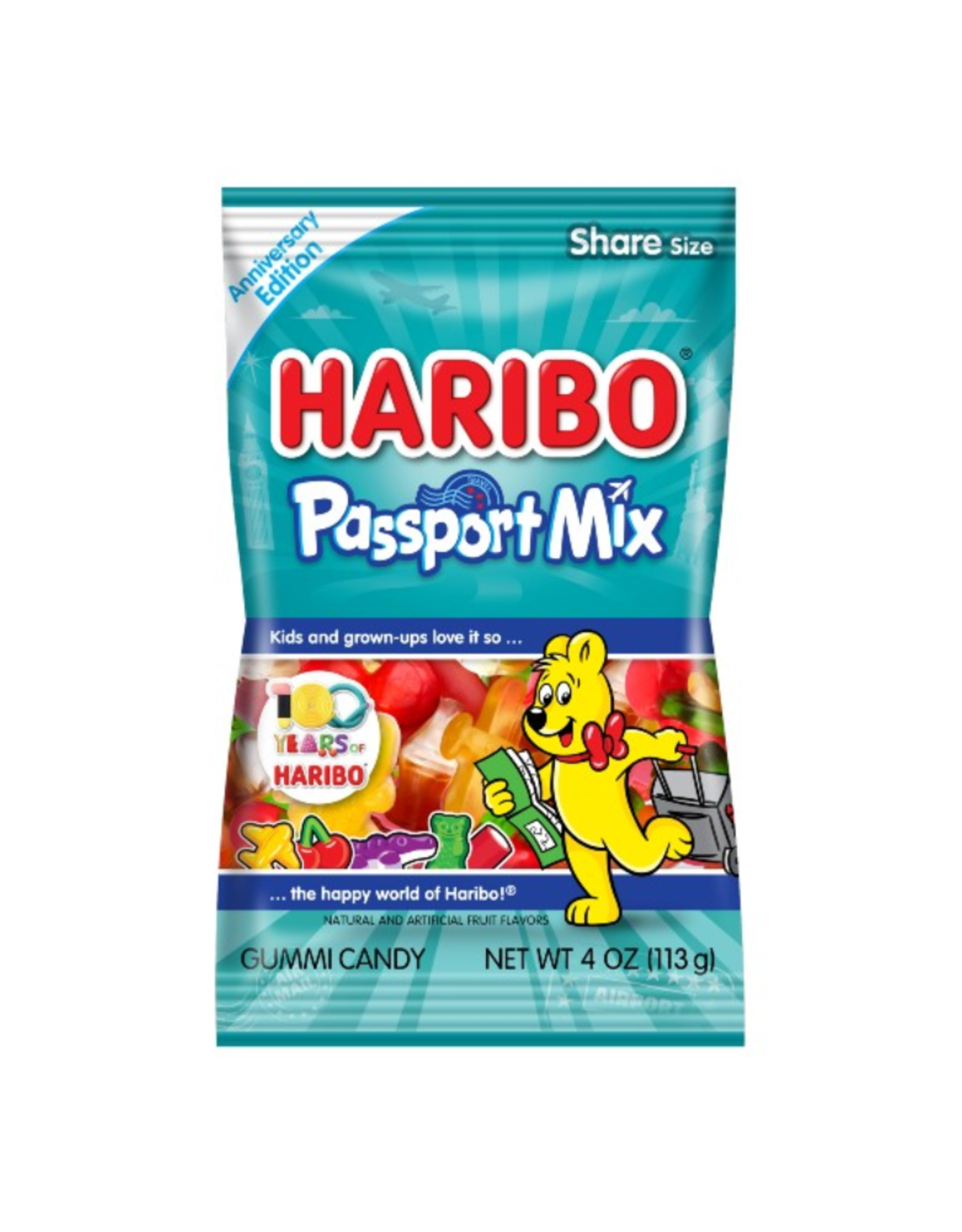 Haribo Peg Bag Passport Mix