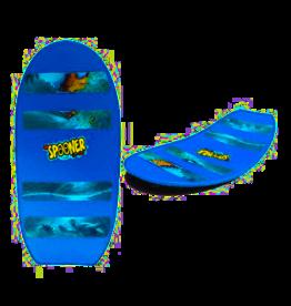 "24"" Freestyle Spooner Board Blue-Turtle Wave"