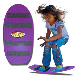 "24"" Freestyle Spooner Board Purple Turtle Wave"