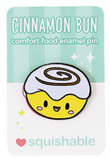 Squishable Enamel Pin - Cinnamon Bun
