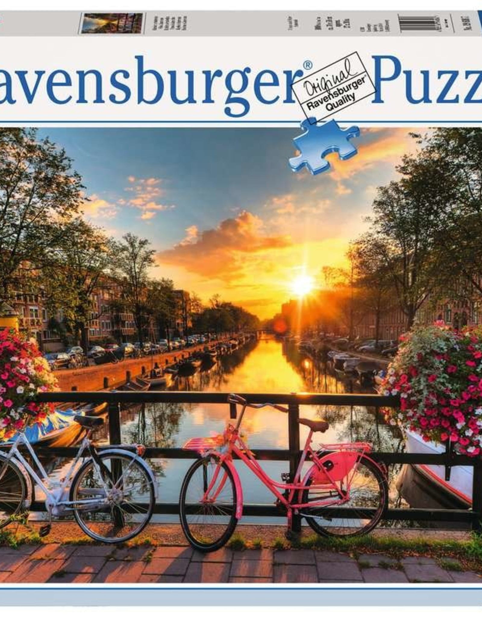 Ravensburger Bicycles in Amsterdam 1000 Pc