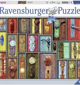 Ravensburger Antique Doorknobs 1000 Pc
