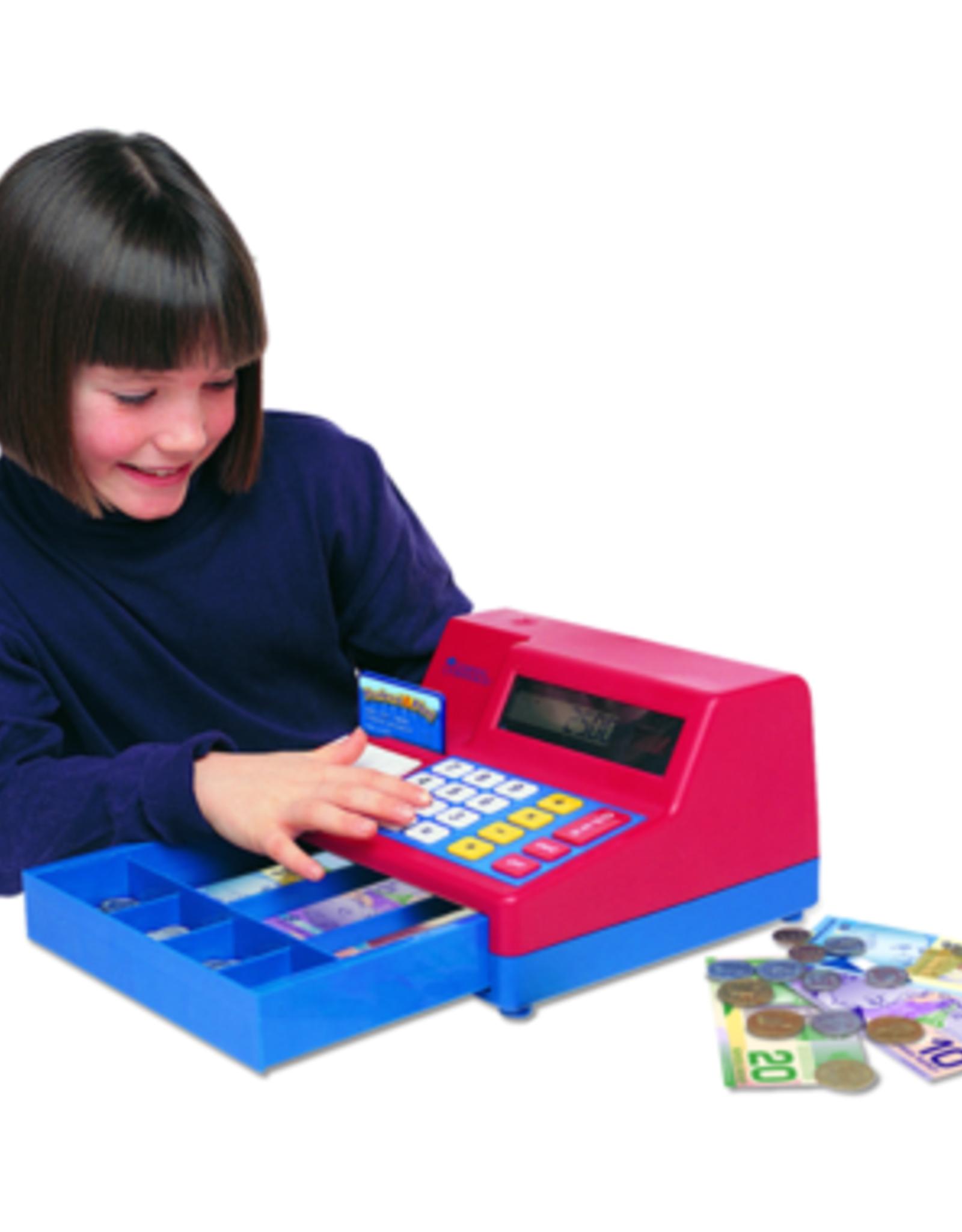 Pretend & Play Canadian Calculator Cash Register