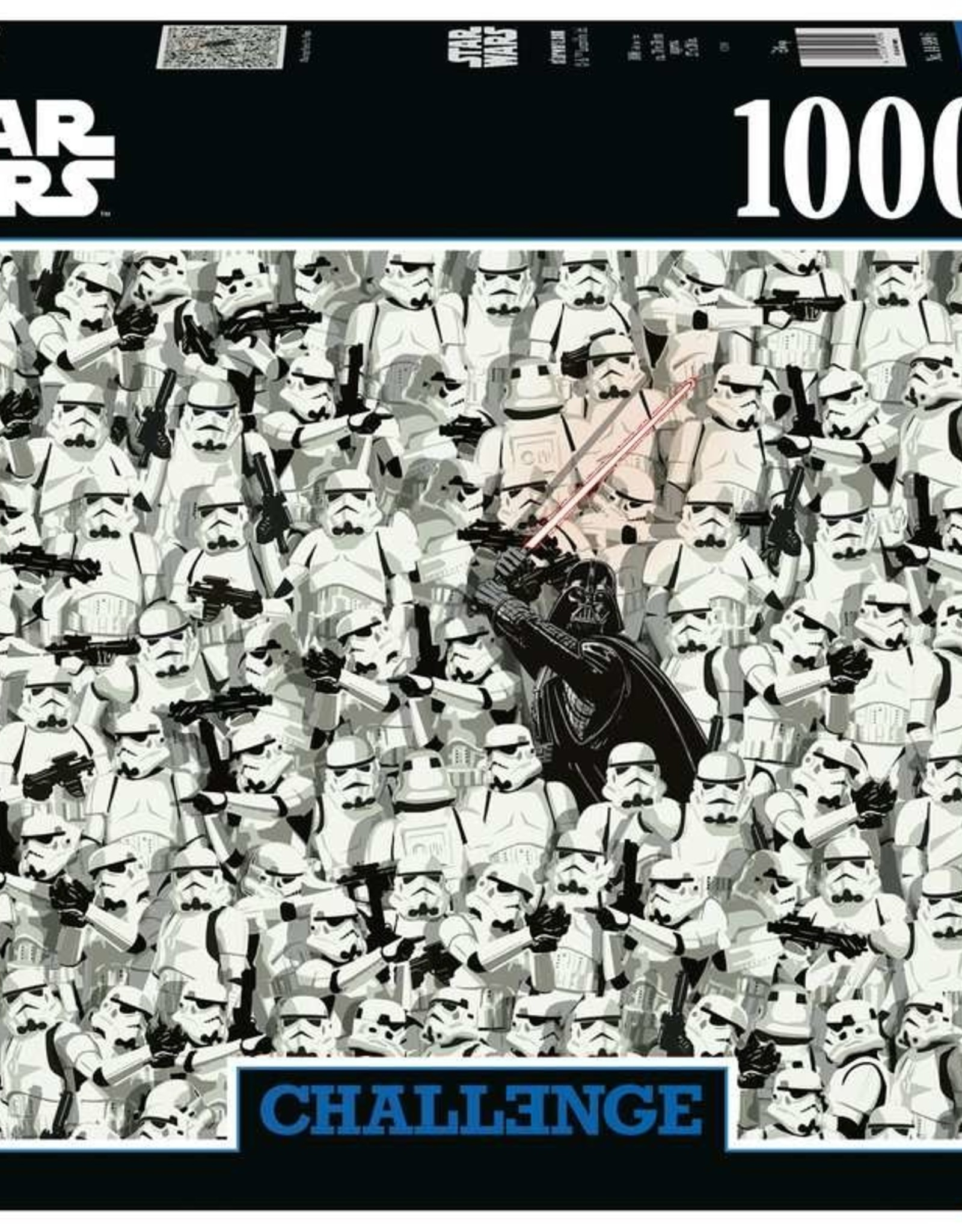 Ravensburger Challenge Puzzle Star Wars (1000 PC)