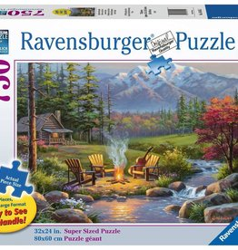Ravensburger Riverside Livingroom (750 Pc Large Format)