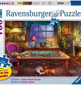 Ravensburger Puzzler's Place (750 Pc Large Format)