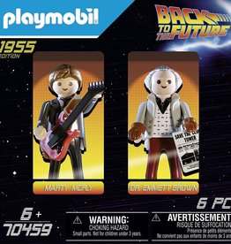 Playmobil 2 Figure Set Marty & Doc.Brown