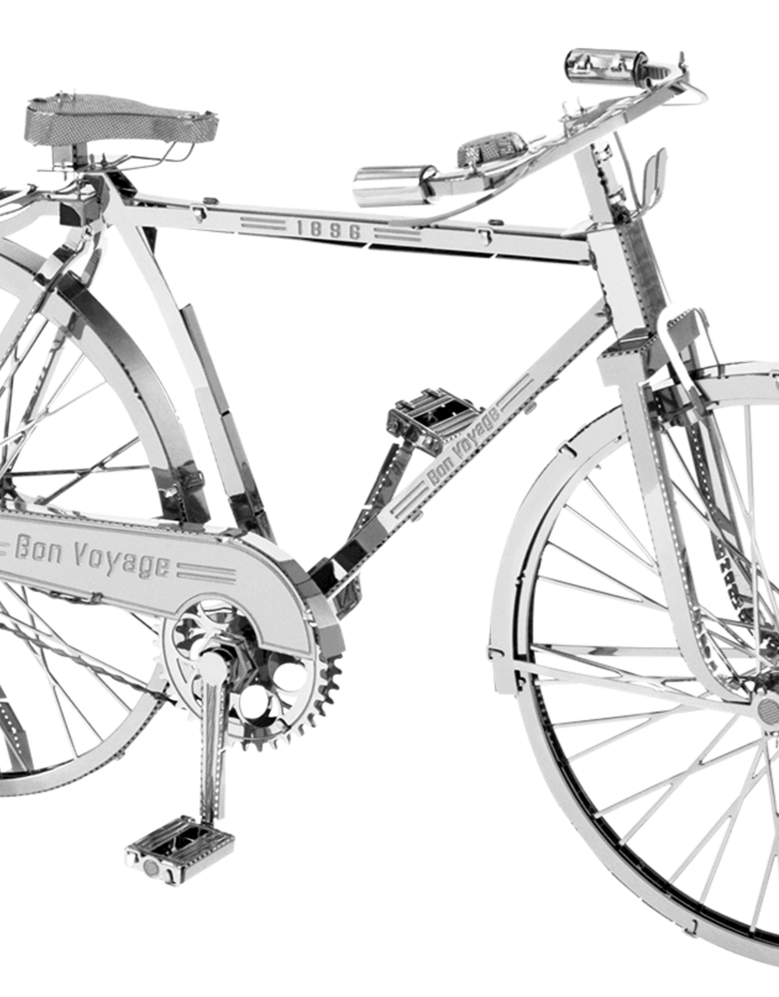MetalEarth Iconx, Classic Bicycle, 2 Sheets