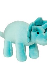 Manhattan Toy Velveteen Dino Spike (Triceratops) Aqua