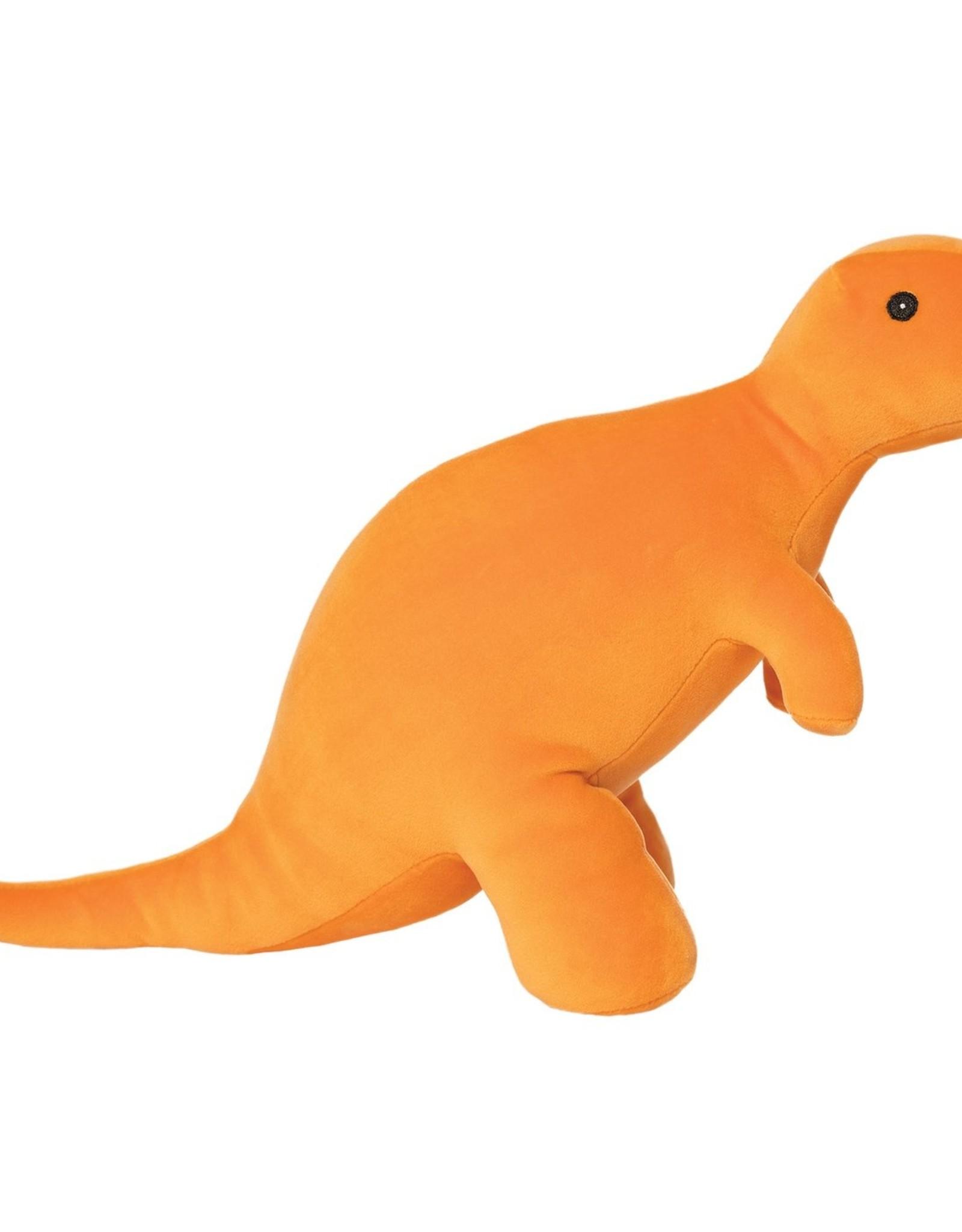 Manhattan Toy Velveteen Dino Growly (T-Rex) Orange