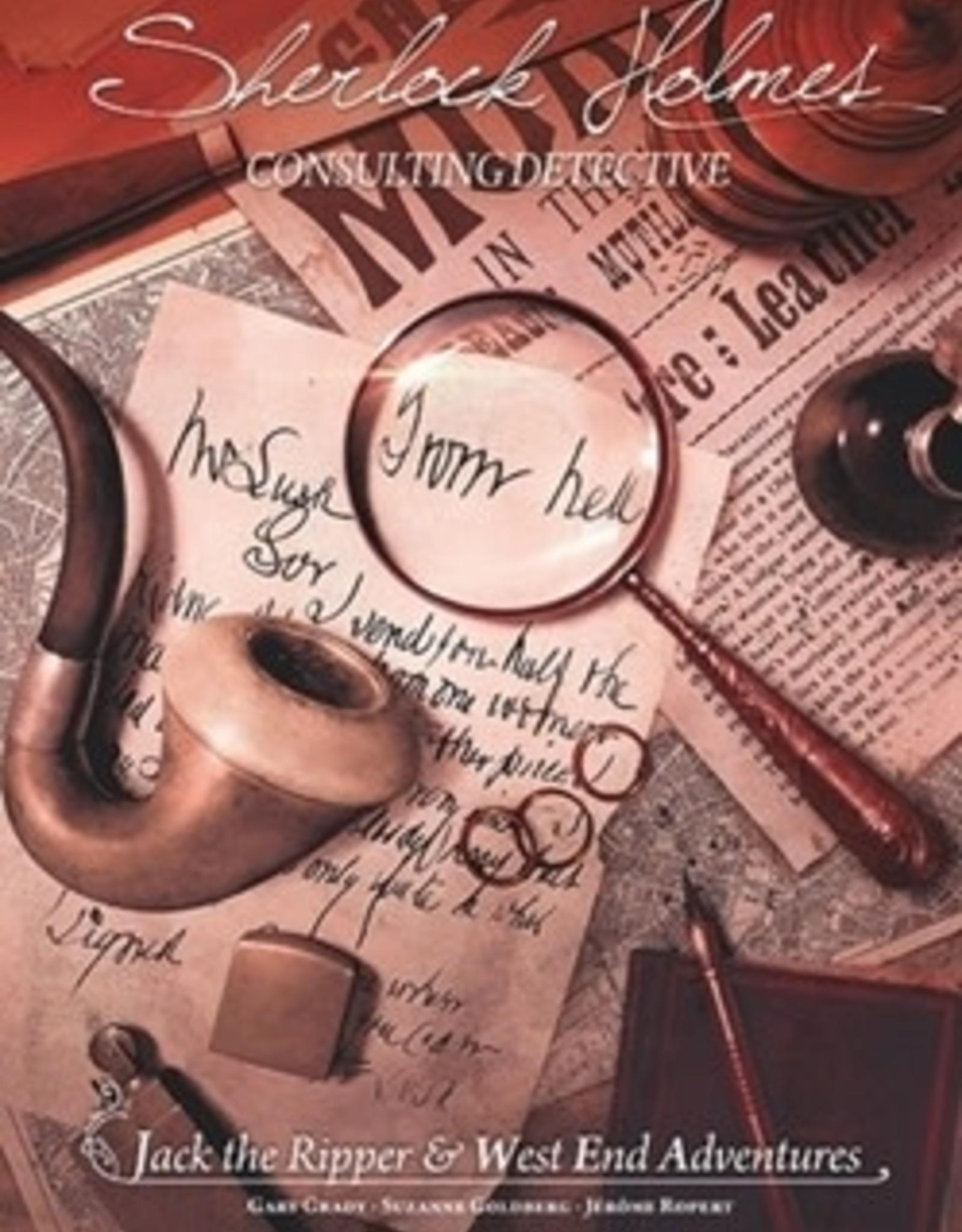 SHERLOCK HOLMES : JACK THE RIPPER & WEST END ADVENTURE